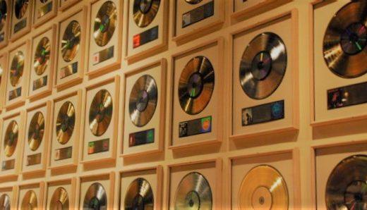 collezione di dischi d'oro
