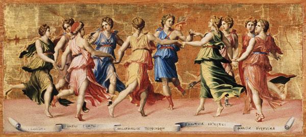 Baldassarre Peruzzi, la danza di Apollo con le Muse